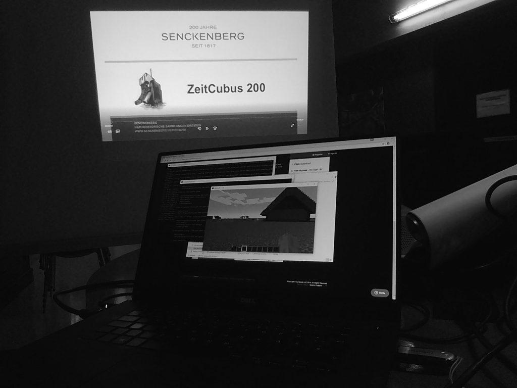ZeitCubus 200 – Minecraft im Museum